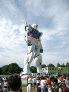 Gundam right-front