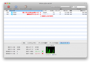 activity monitor skype